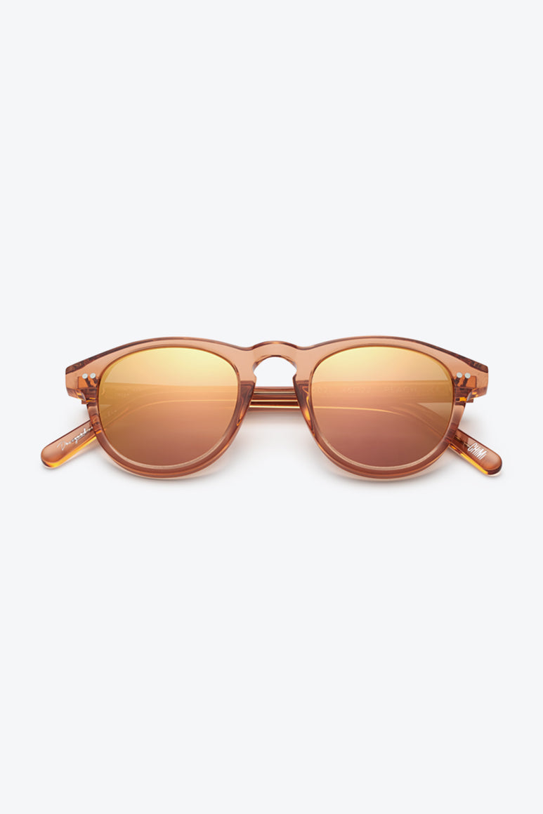 #002 ROUND SUNGLASSES / PEACH