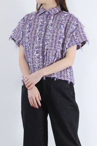 CORSO TOP TWEEDY TWEED / TARO MULTI [30%OFF]