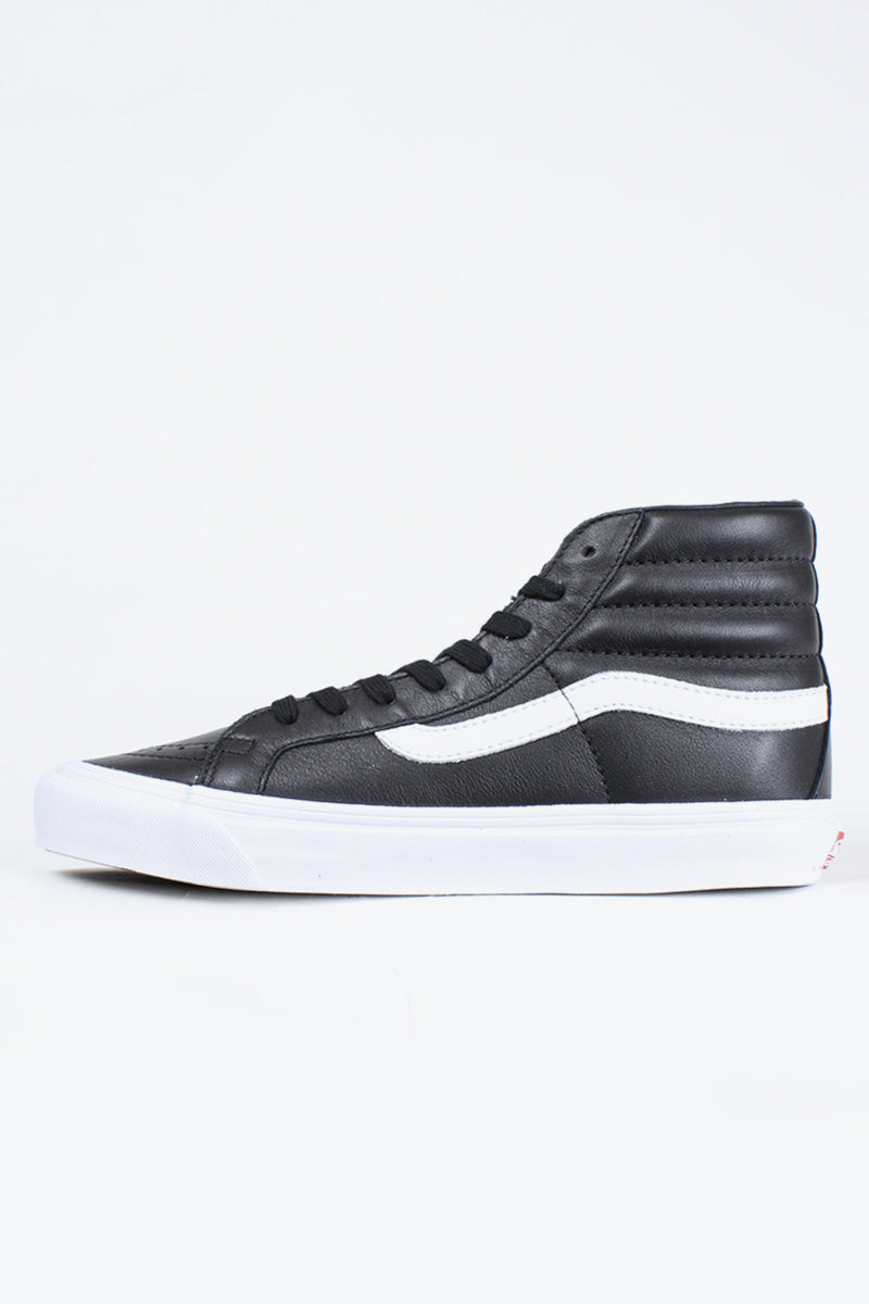 OG LEATHER SK8-HI LX / BLACK [日本未発売モデル]