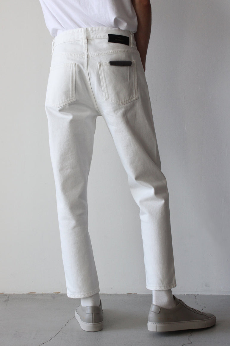 BEN DENIM PANTS / TINTED WHITE