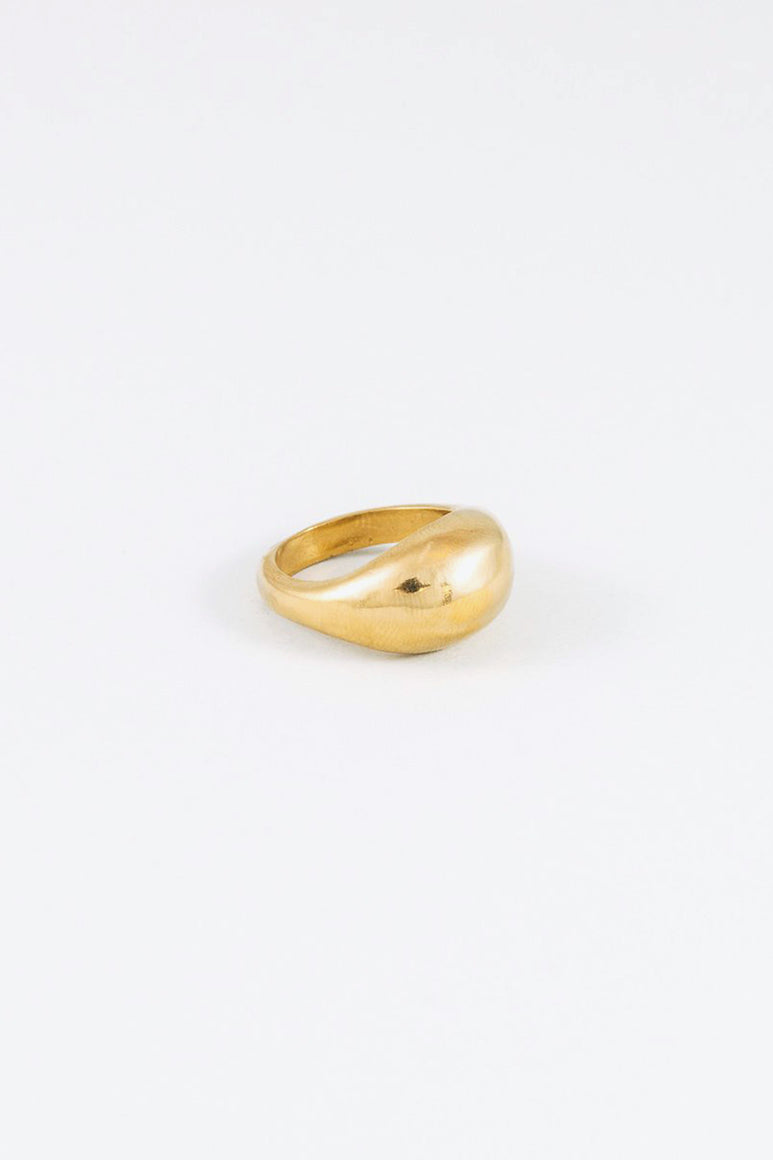 MAGNES RING / 14K GOLD PLATED