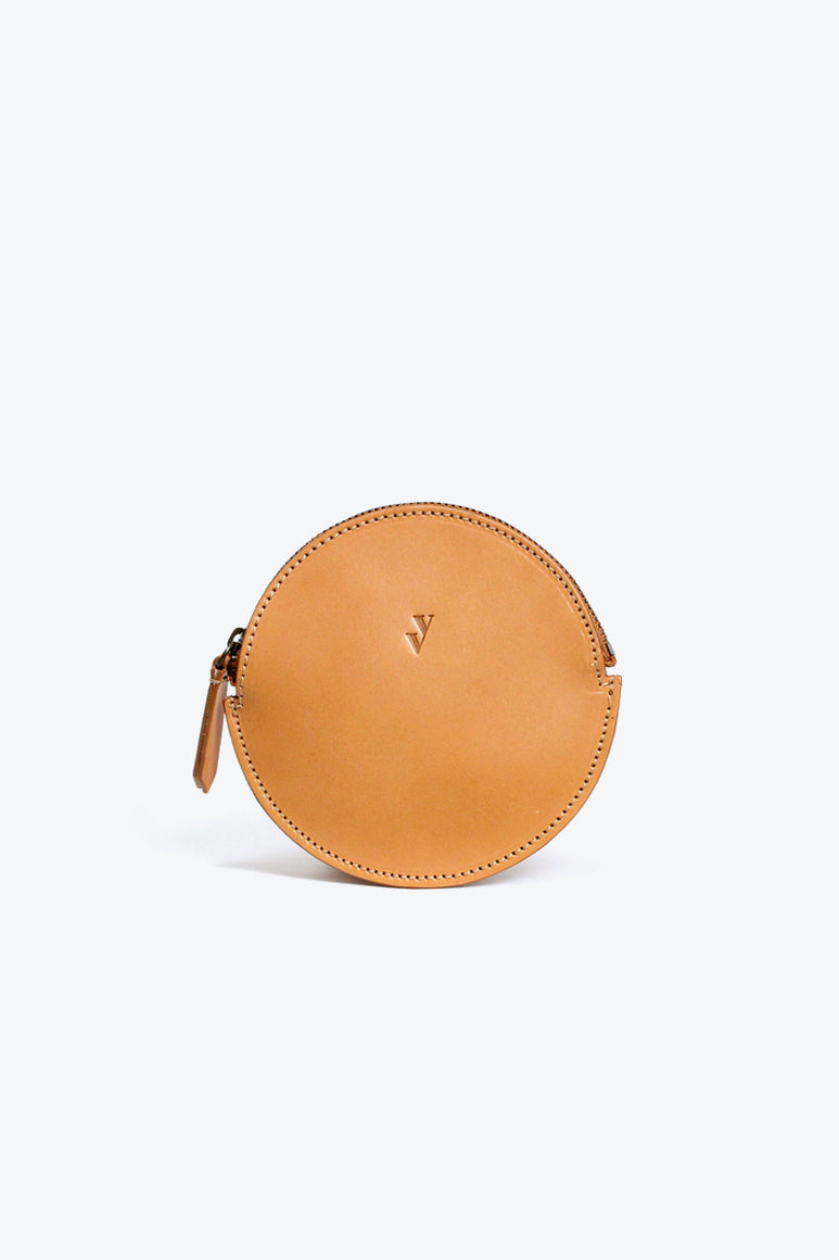 MON LEATHER COIN PURSE / HONEY