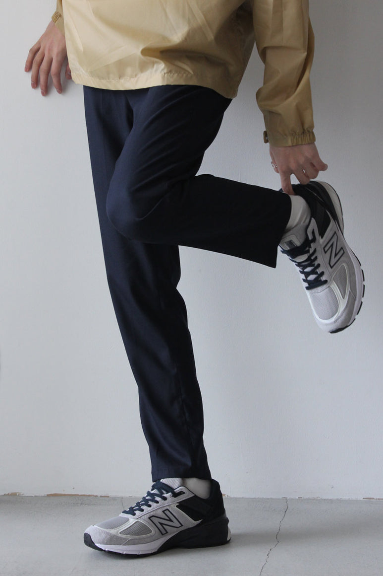 CALVIN RELAX TROUSERS / NAVY