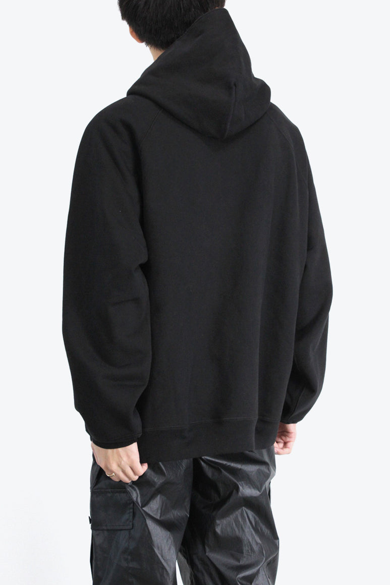 SUPER WEIGHTED HOODIE	/ BLACK