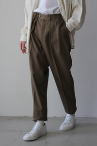 MAX CANVAS TAPERED / TAUPE