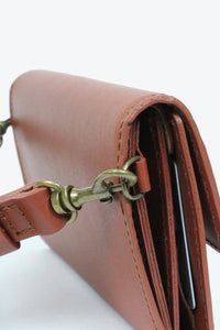 ADO WALLET&HIP PACK / BROWN