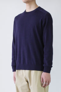 COMPOSE SWEATER DK BLUE / NAVY [40%OFF]