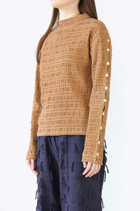 SIMA TURTLENECK / TERRACOTTA [50%OFF]