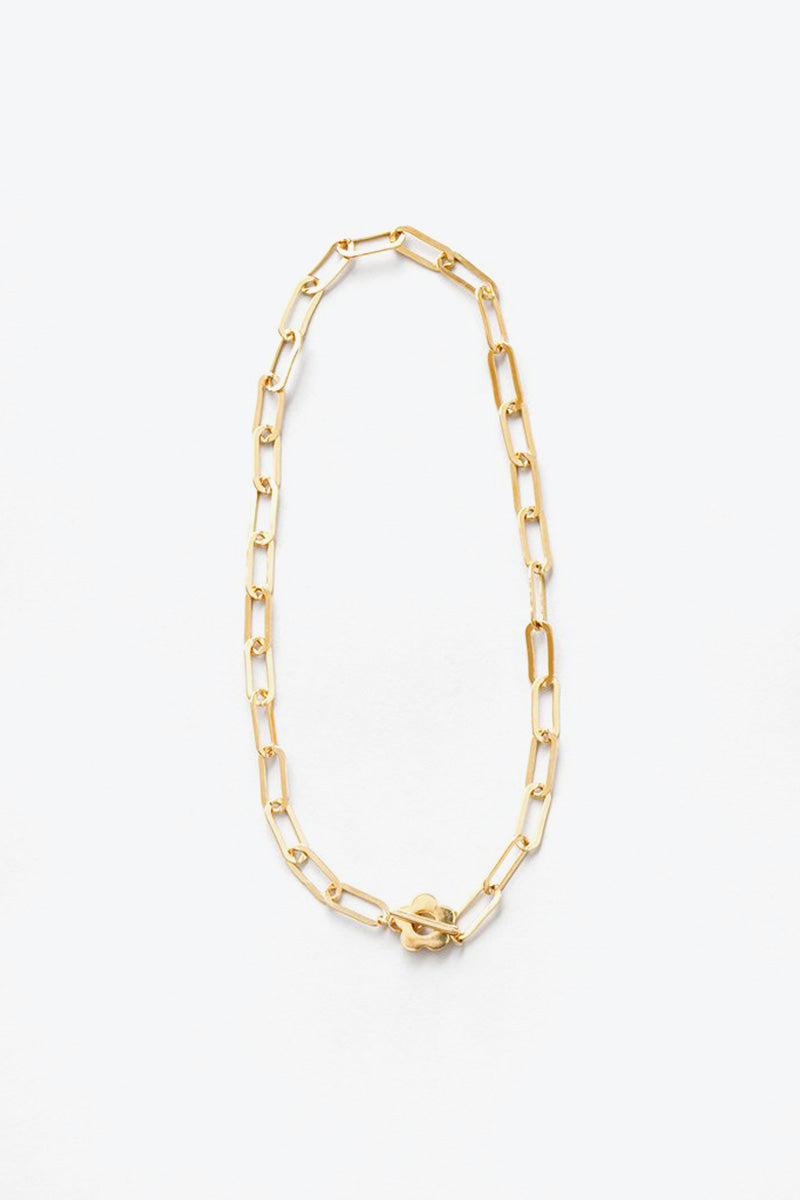 SIMONE NECKLACE / GOLD VERMEIL