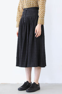 LINGO SKIRT / BLACK [60%OFF]