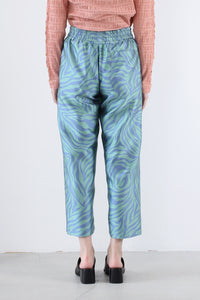 PATCH PANT ELECTRIC ZEBRA / SURF MULTI [30%OFF]