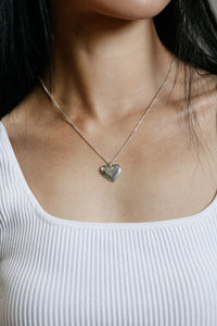AMOURETTE NECKLACE / STERLING SILVER