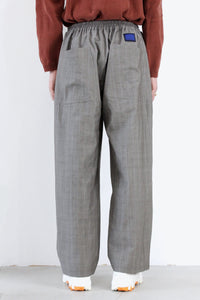 WOOL PAINTER PANTS / CHECK [20%OFF]