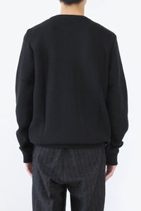 PULL MAILLE D'ARCHIVE / BLACK