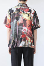 Load image into Gallery viewer, BOX SHORTSLEEVE SHIRT / PEACE CROWD [30%OFF]