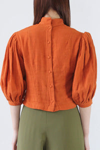 GEORGIANA BLOUSE / PAPRIKA [30%OFF]