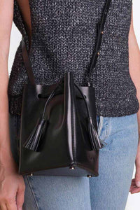 MINI TRIS 2WAY CROSSBODY HIP PACK&BUCKET / BLACK