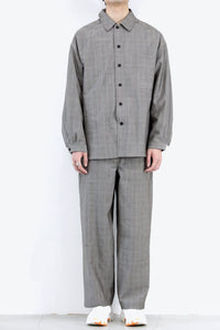 WOOL OVER SHIRT / CHECK [30%OFF]