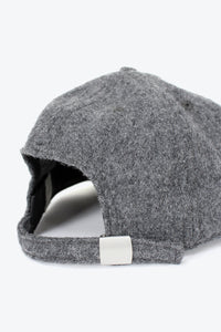 FLOPPY BALL CAP / GREY WOOL TWILL [30%OFF]