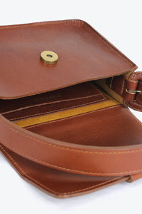 MINI ESTEL BAG / SADDLE BROWN