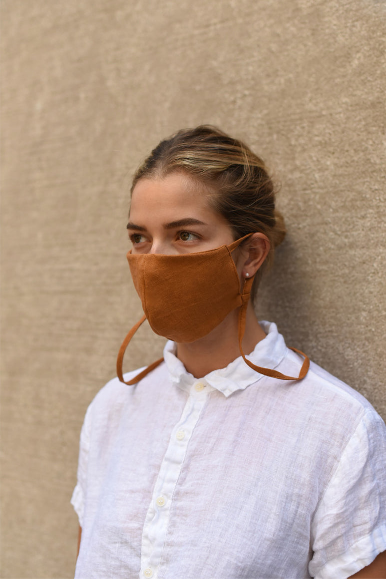 LANYARD MASK / TERRACOTTA