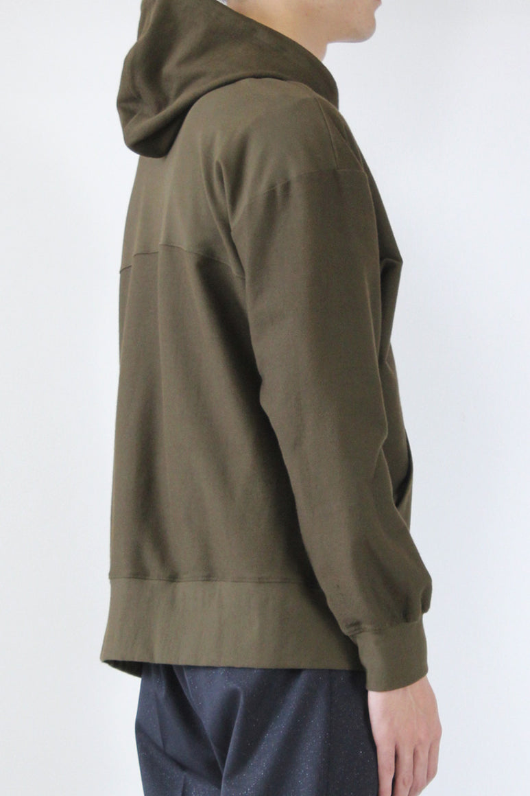 PULLOVER HOODIE SWEAT / OLIVE [30%OFF]