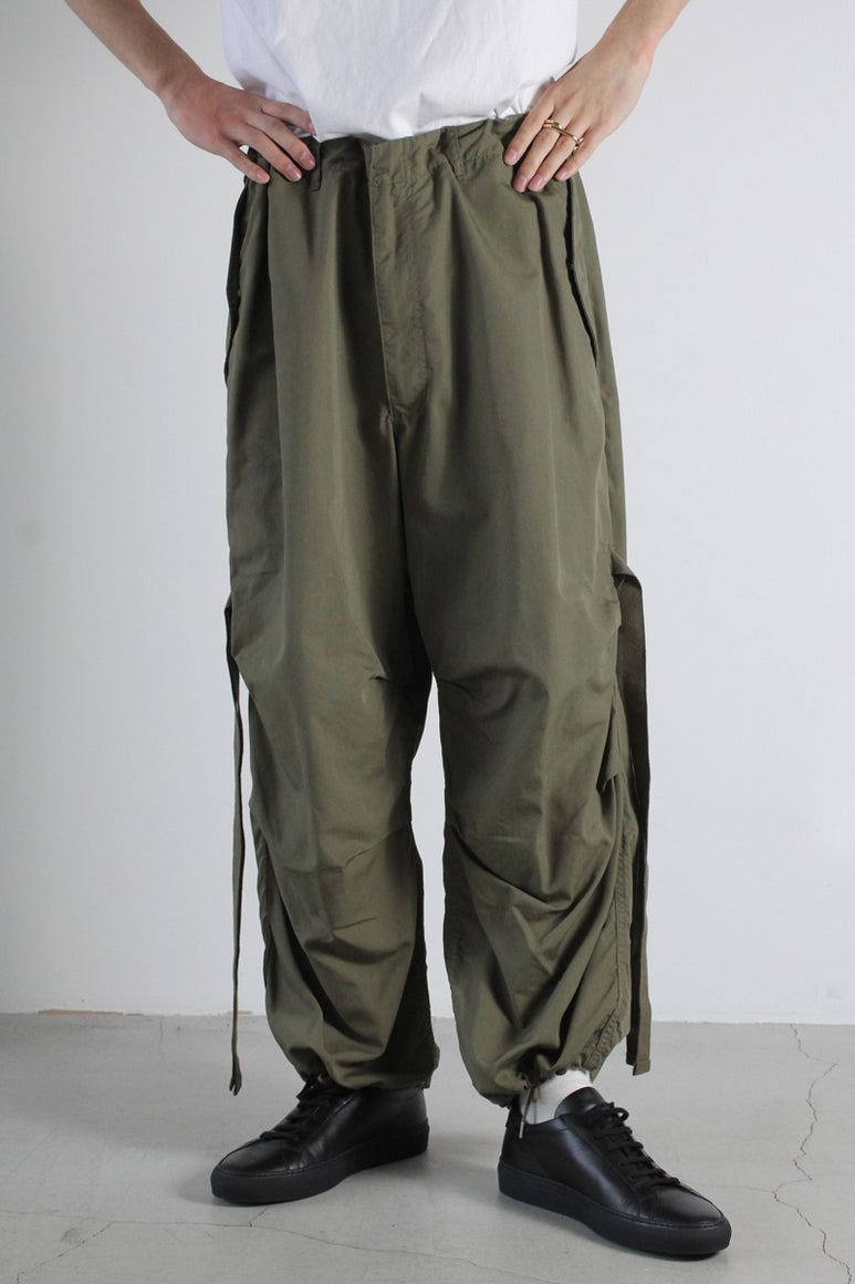 C/N OXFORD CARGO PANTS / KHAKI
