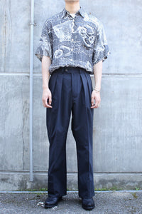 [クーポン対象外商品] URBAN TECH TROUSERS WIDE / BLACK