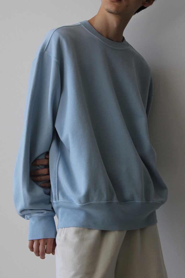RELAXED SWEATSHIRT / CORNFLOWER
