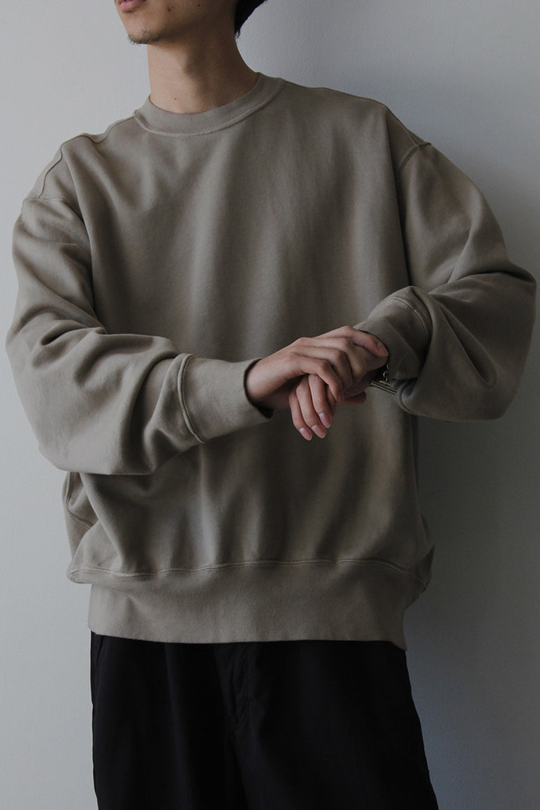 RELAXED SWEATSHIRT / ALMOND