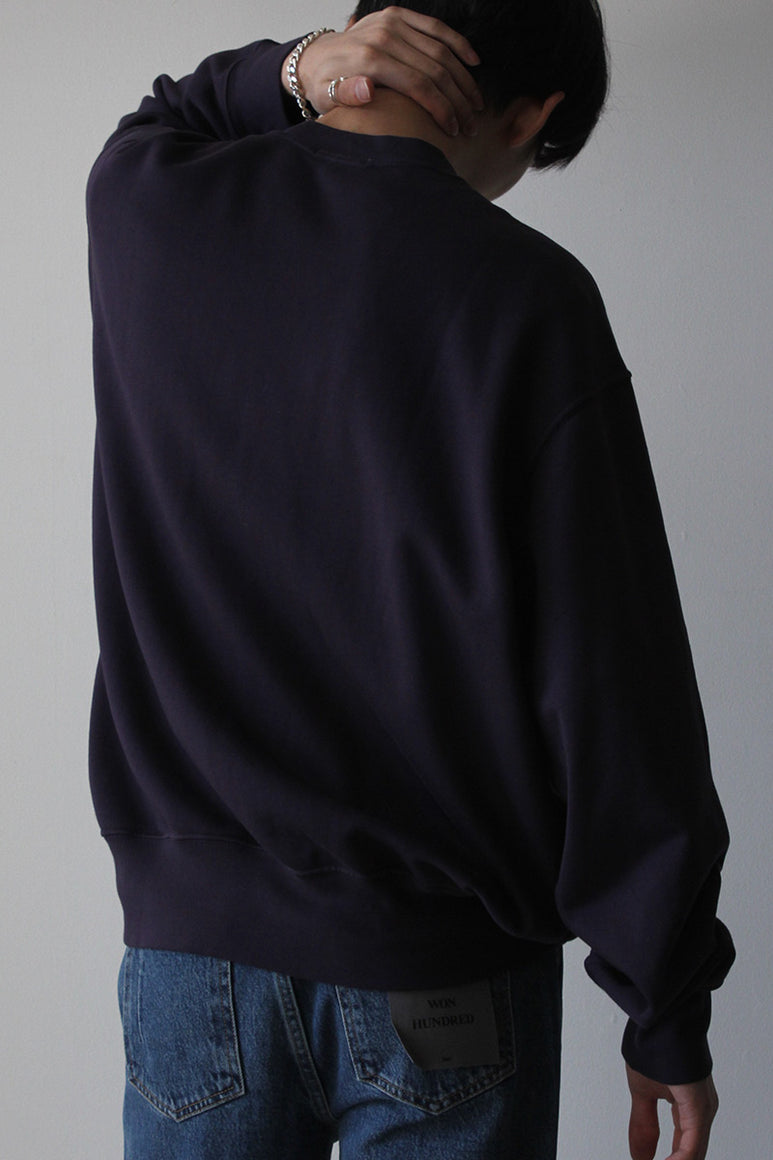 RELAXED SWEATSHIRT / MIDNIGHT BLUE