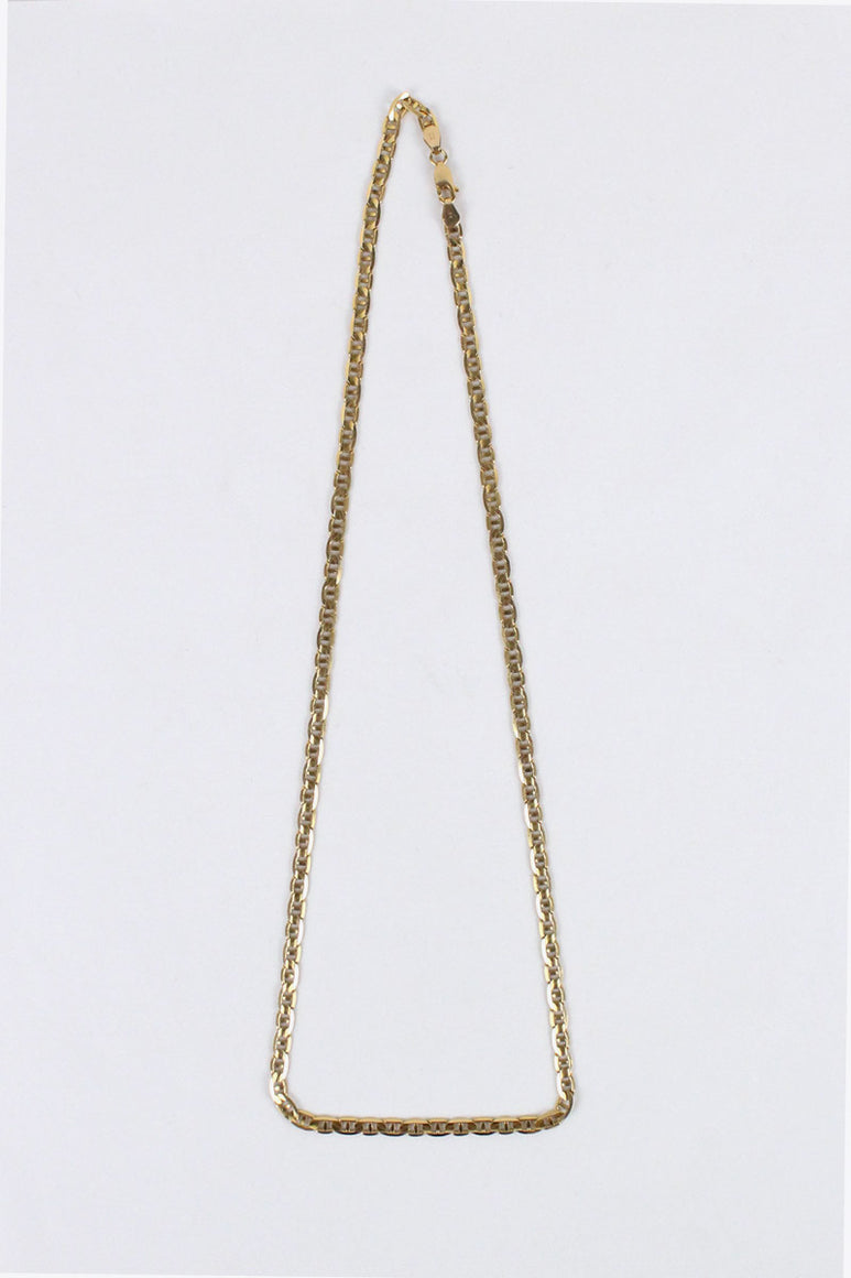 [クーポン対象外商品] MADE IN ITALY 14K GOLD NECKLACE 13.27G / GOLD