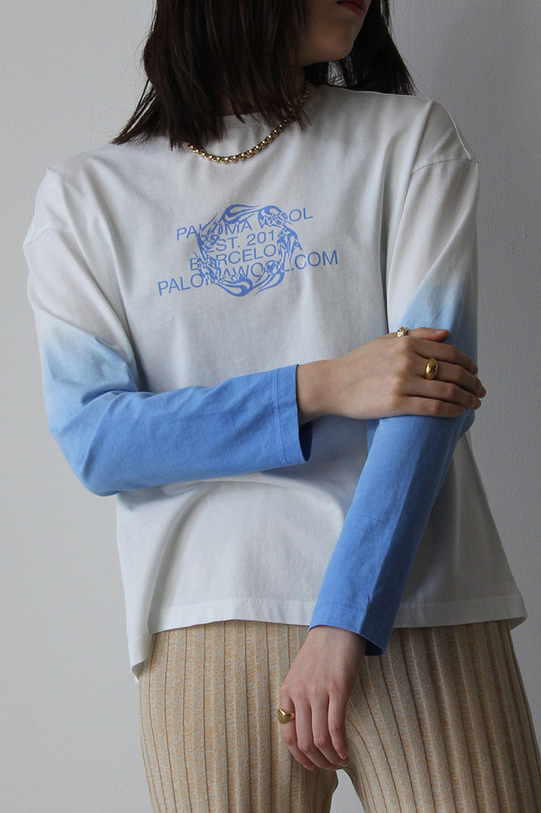 SOUVENIR SESSIONS L/S T-SHIRT / OFF WHITE