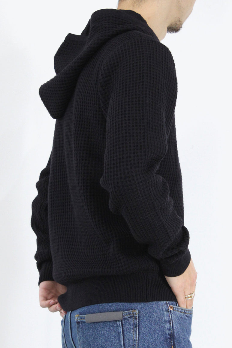HOOD SWEATER / NAVY