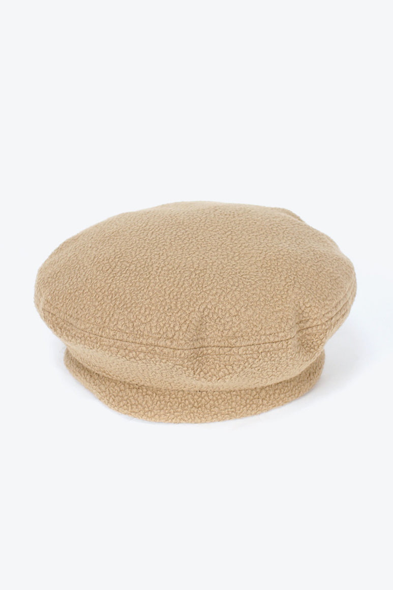 BERET / CAMEL POLAR FLEECE [30%OFF]