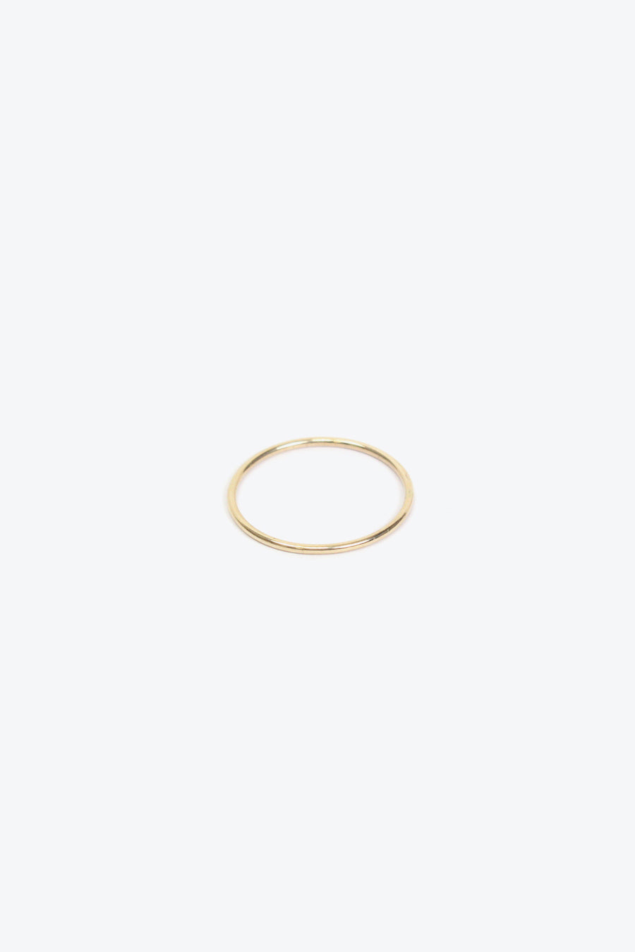 SUBTLE BAND RING / 14K ROSE GOLD