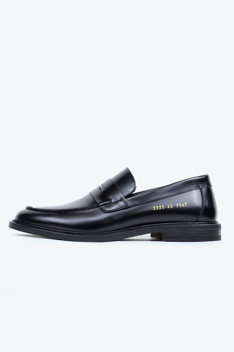 LOAFER IN LEATHER 2225 / BLACK 7547