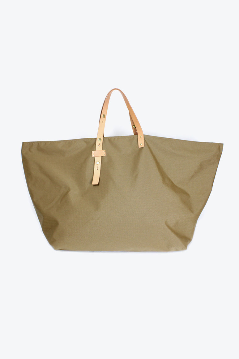 NYLON BAG LARGE / COYOTE BROWN