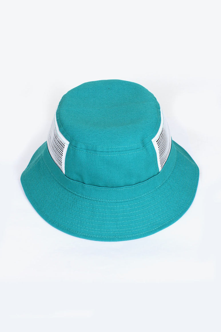 TEAL MESH BUCKET / TEAL [50%OFF]