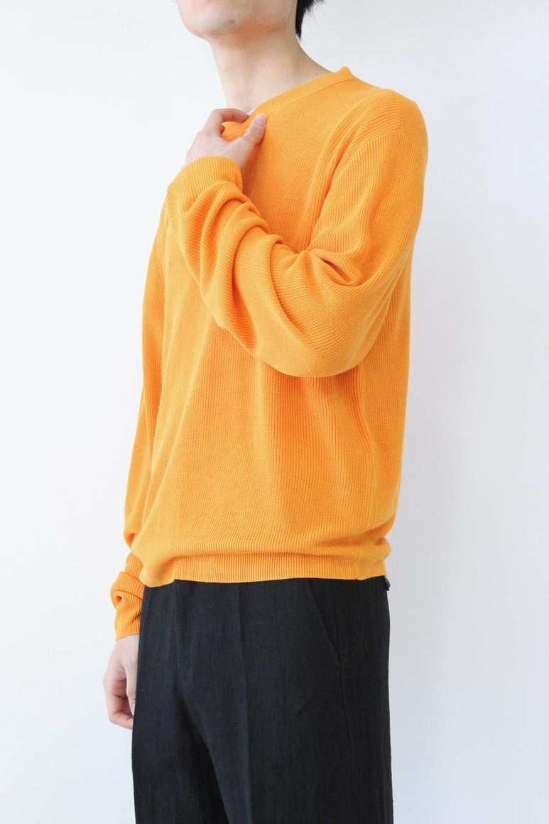 GENTLE SWEATER / ORANGE