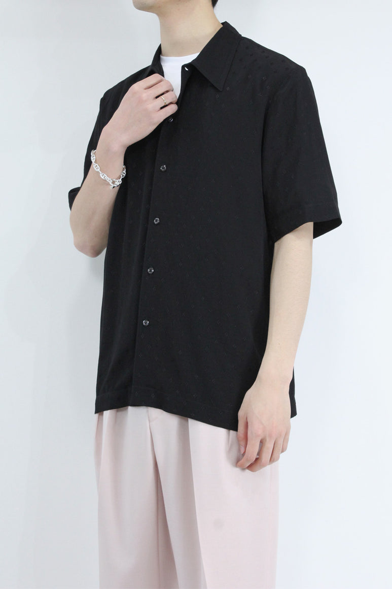 SUNEHAM SHIRT / BLACK PRINT [40%OFF]