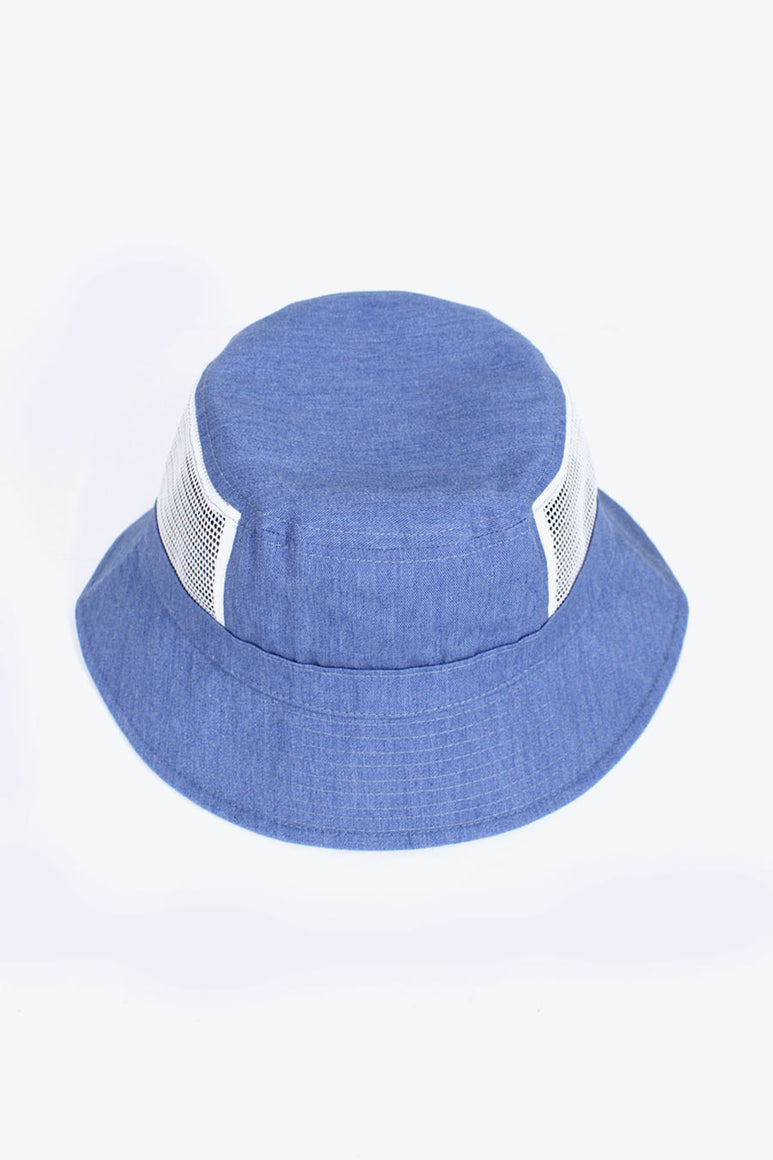 SKY BLUE MESH BUCKET / BLUE [50%OFF]