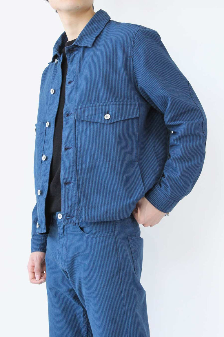 PINKLEY JACKET / NAVY/BLUE