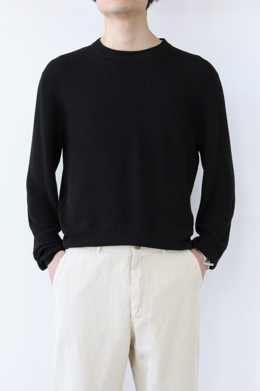 GENTLE SWEATER / BLACK [20%OFF]