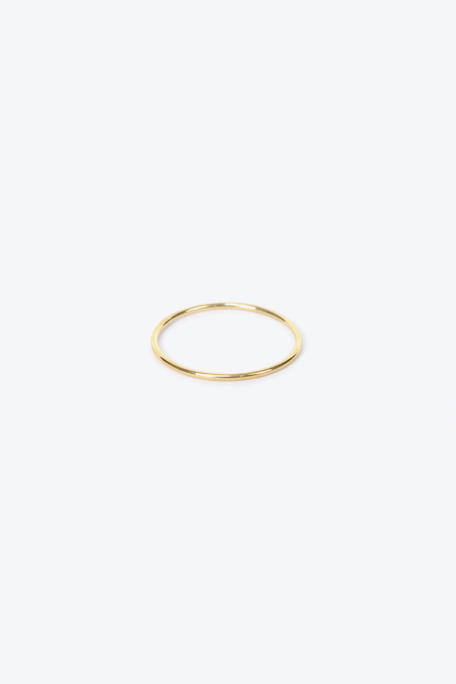 SUBTLE BAND RING US3.5 / 14K YELLOW GOLD