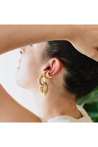 COLMILLO EAR CUFF / YELLOW GOLD PLATE