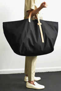 NYLON BAG LARGE / BLACK