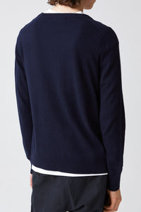 COMPOSE SWEATER / NAVY [50%OFF]