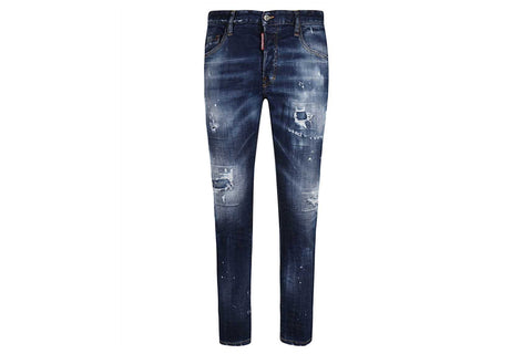 Dsquared2 Skater Top Craftsmanship Denim Jeans Blue