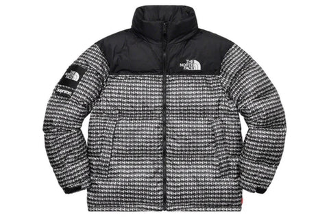 Supreme x The North Face Studded Nuptse Jacket Black